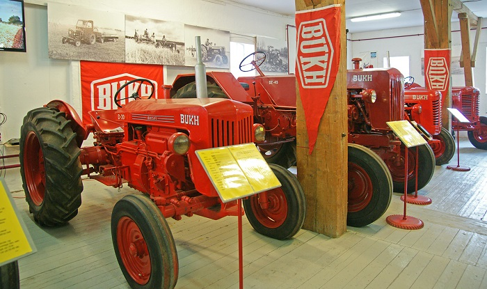 Traktorer fra BUKH