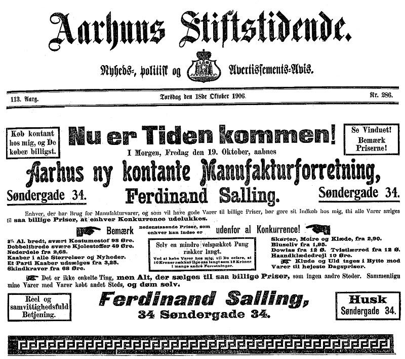 Historien om Dansk Supermarked