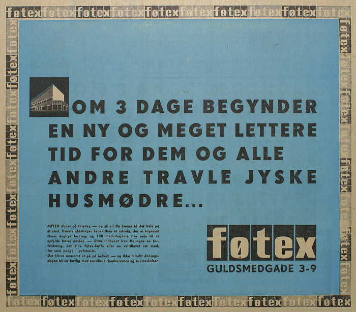 Føtex runder butik nummer 100 siden 1960