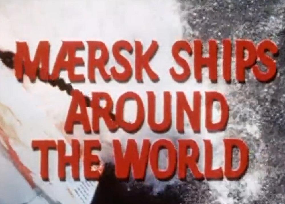 Maersk Line i 1960erne – film om linjefarten
