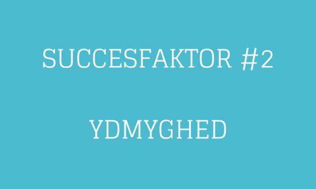 Succesfaktor #2 Ydmyghed