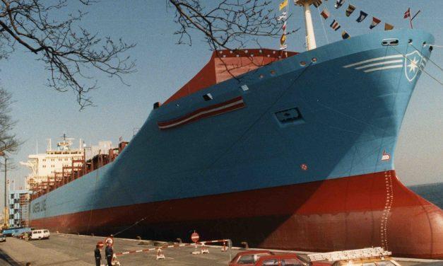 Marchen Mærsk var det første af M-skibene