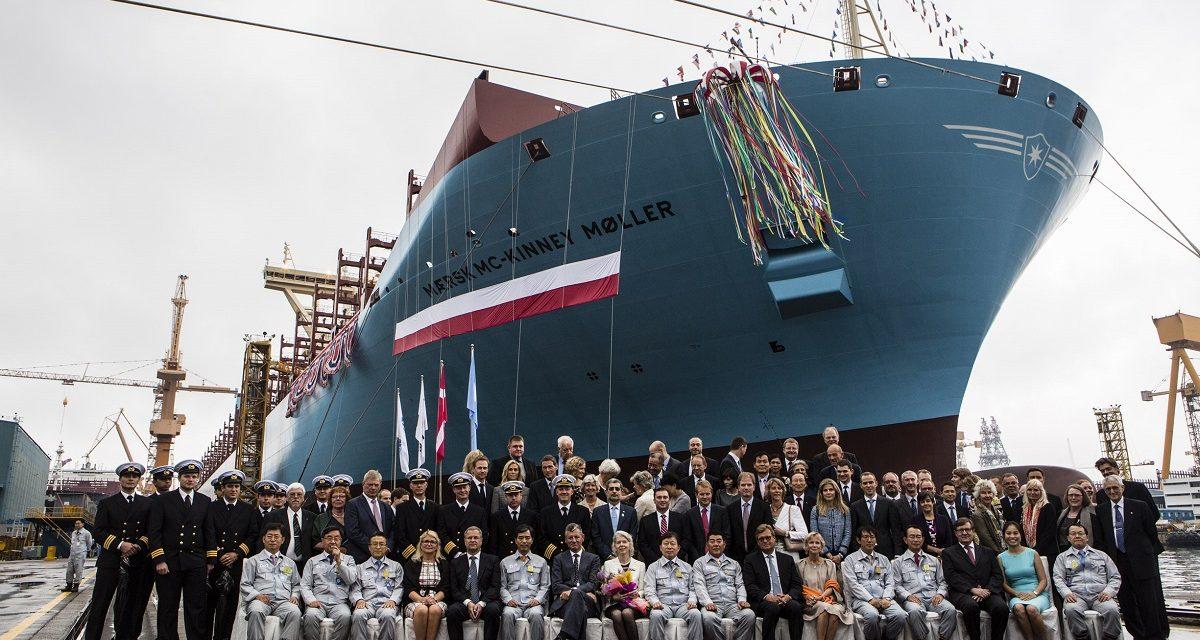 På rejse med containerskibet Mærsk Mc-Kinney Møller