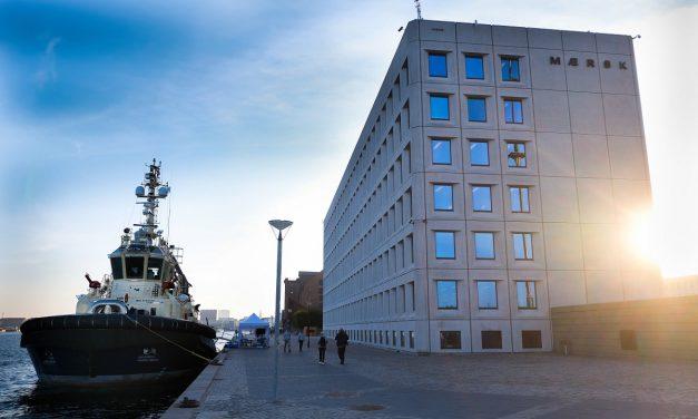 Mærsks hovedkvarter på Esplanaden i København