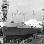 Stabelafløb for tankskibet Esso Danmark i 1960