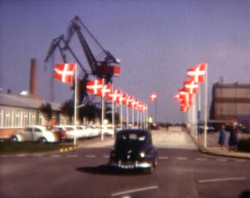 Stabelafløb på Lindø i 1960erne